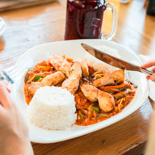 Cafe Del Sol - Red Curry Thai-Style